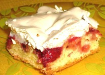 Jednoduchý jahodový koláč