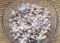 Rybí salát - z králíka