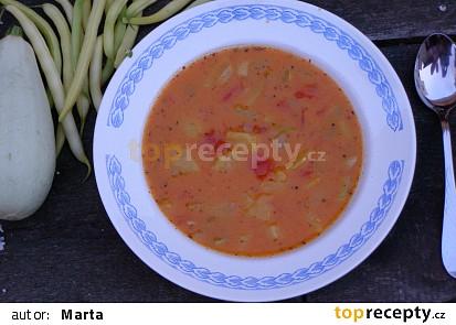 Zeleninový guláš s cuketou