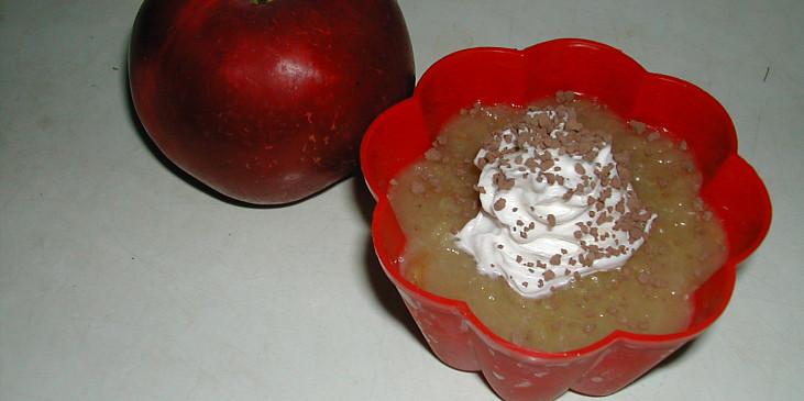 Jablkový pudink