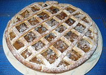 Jablkový koláč z bramborového těsta