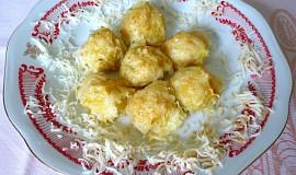 Zapečené bramborové kuličky