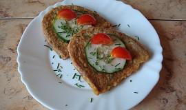 Obalovaný chléb ve vejci