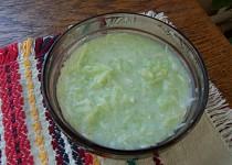 Okurkový salát se smetanou