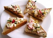Chuťovky – trojúhelníčky