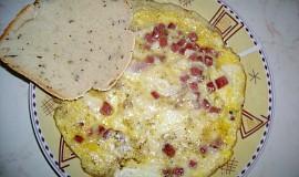 Omeleta se slaninou