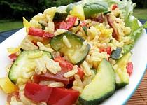 Zeleninové rizoto s klobásou