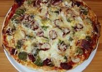 Pizza s brokolicí