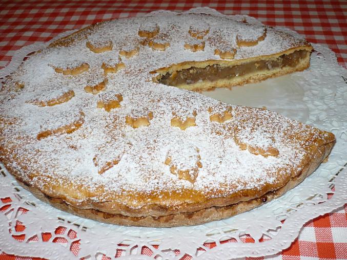 Jablkový koláč.