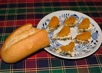 Nakládaný hermelín s mandarinkou