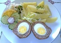 Smažená pštrosí vejce