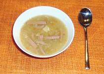 Čočková polévka z červené čočky