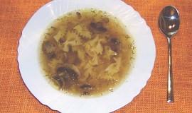Houbovo-uzená polévka
