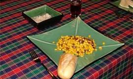 Kukuřice na slanině