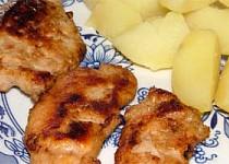 Medové maso na grilu