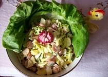 Velikonoční salát s ředkvičkami
