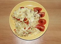 Zapečené těstoviny s paprikou