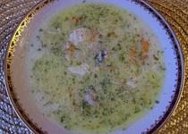 Krémová polévka z kuřete