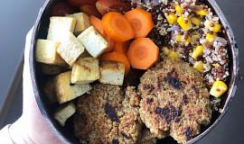 Falafel bowl s quinou