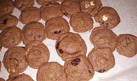 Kakaovo-čokoládové rychlé sušenky