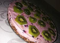 Nepečený dort s želatinou a jogurtem