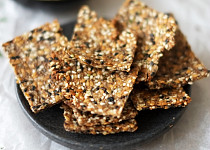 Semínkové Low-Carb krekry