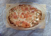 Zapečený knedlík s mozzarellou