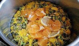 Pampeliškový med s pomerančem