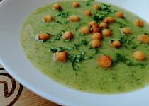 Brokolicová polévka krémová