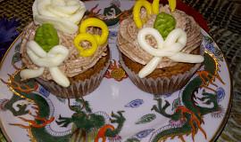 Muffiny z Margot čokolády s krémem