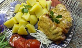Kapr na tymiánu v sýrovém těstíčku