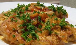 Vepřové kotletky na česneku