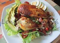 Jemné kuře k salátu