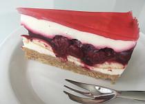 Letní višňový dort