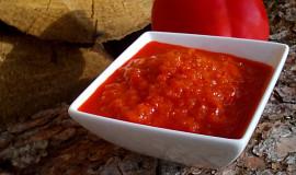 Papriková pasta do zásoby