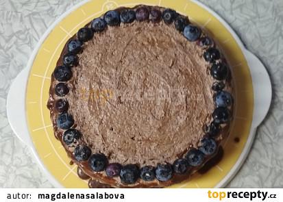 Čokoládový dort s pudinkovým krémem