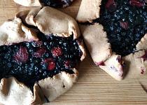 Borůvkové galette z celozrnné mouky