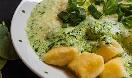 Špenátovo-brokolicová omáčka