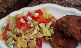 Osvěžující zeleninový salát s Nivou