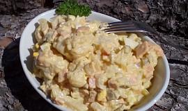 Svačinový květákovo - bramborový salát