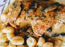 Horácké kuře (s houbami)