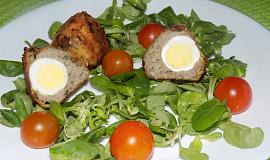 Skotská křepelčí vejce