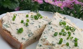 Pomazánka z čerstvého sýru a pažitky