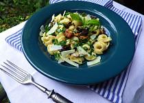 Tortellini plněné sýrem s lesními houbami a bylinkami