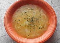 Cibulová polévka - jednoduše
