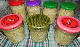 Zelný salát do sklenic