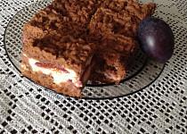 Švestkový strouhaný koláč