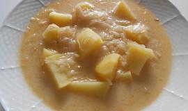 Pikantní zelňačka  (Dělená strava podle LK - Kytičky + zelenina)