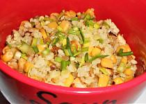 Rizoto s uzeným tofu (Dělená strava podle LK - Kytičky + zelenina)