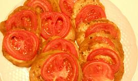 Zapékaný lilek (Dělená strava podle LK - kytičky + zelenina)